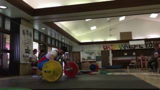 104kg/108kg Snatches From Side