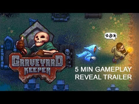 Graveyard Keeper Gameplay Reveal Trailer thumbnail