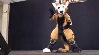 FurFright 2013 Fursuit Dance Competition - 1 - Telephone
