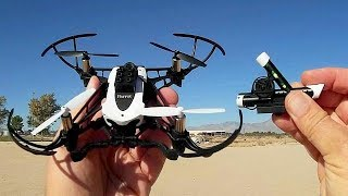 Parrot Mambo Minidrone Claw and Gun Drone Flight Test Review