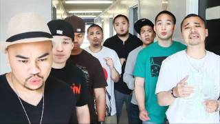 Our Acapella version of Hello  Mikee Mic, Anak ,and DNH, pizza factory collab