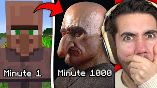 Minecraft, But It Gets More Realistic Every Minute