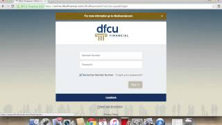 DFCU Online Banking Login | How to Access your Account