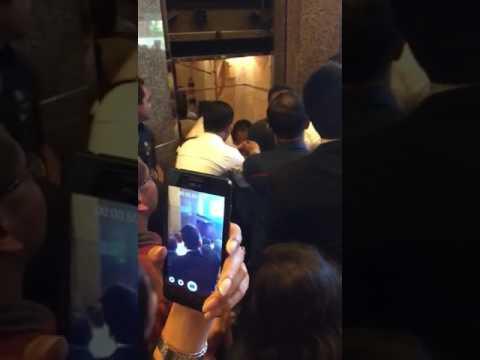 Video detik-detik lift jatuh di BRI Sudirman