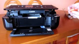 PIXMA MG7520: Removing a jammed paper: inside the printer - Most