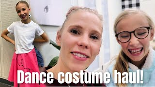 DANCE COSTUME HAUL! 7 COSTUMES!