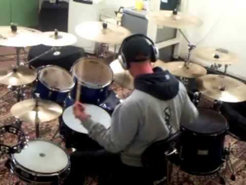 HAPPINESS IS EASY TALK TALK 2015 drum cover