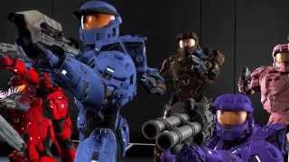 Red vs Blue Season 13: Trocadero - Contact (Redux) Music Video