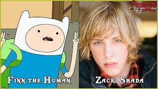 Adventure Time Characters Voice Actors