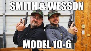 "Smith & Wesson Model 10-6 Police Turn-In Revolvers 38 Spl 4"" Blued Heavy Barrel - 6 Round. Surplus Fair"