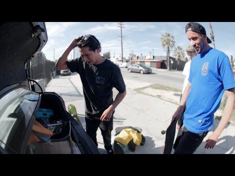 What's In OMAR SALAZAR's Trunk? | Brandon Biebel
