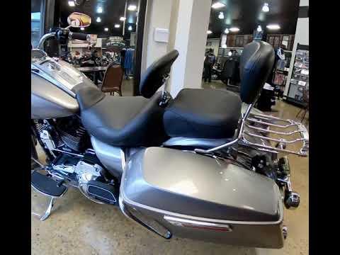 Billet Silver 2016 Harley-Davidson® Road King® FLHR
