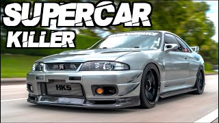 Skyline GTR SMOKES Supercar on the Street! - 900HP AWD 2.8L Stroker HKS T51R (The Perfect R33) by  That Racing Channel