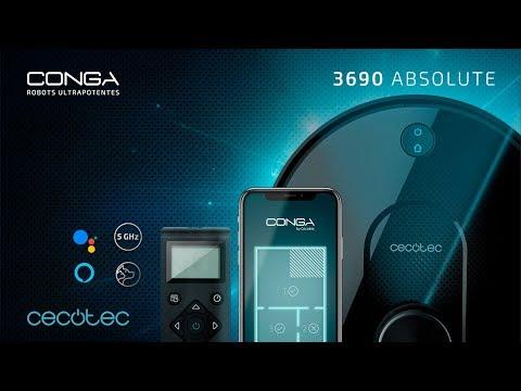 Robot aspirador Conga 3690 Absolute Cecotec