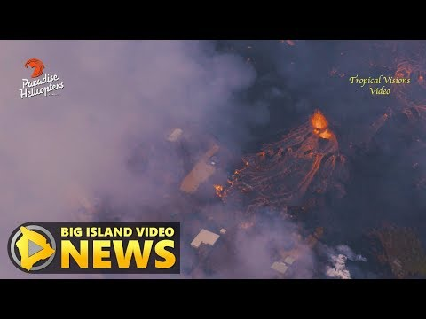 Hawaii Volcano Eruption Update - Saturday Morning (May 26, 2018)
