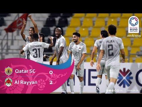 Катар СК - Аль-Раян 0:2. Видеообзор матча 03.11.2018. Видео голов и опасных моментов игры