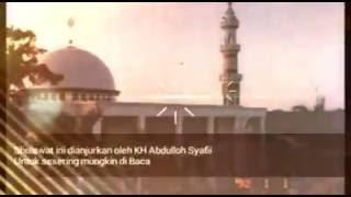Sholawat Al Batawiyin - KH Abdulloh Syafii