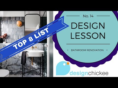 Top bathroom ideas to consider 'BEFORE' you renovate - Design Lesson 14