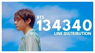 BTS   134340 (Pluto) | Line Distribution