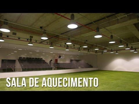 Arena Corinthians | Sala de aquecimento