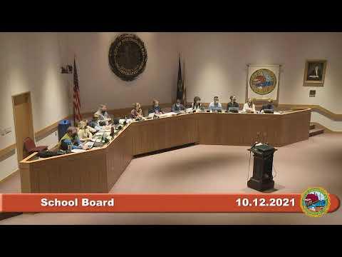 10.12.2021 School Board