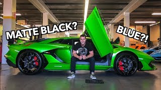 MY NEW LAMBORGHINI AVENTADOR SVJ - Color Revealed!!