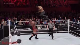 WWE 2K16 [TROPHY GUIDE] - ''Lightning reflexes'' (Curbstomp into RKO!)