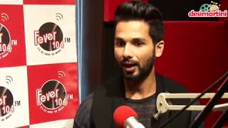 Exclusive Interview With Shahid Kapoor | Padmaavat Promotions | Fever |