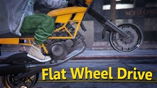 GTA Machinima - 2 - Flat Wheel Drive (PC only)  [M/V of Joystick by Dazz Band]