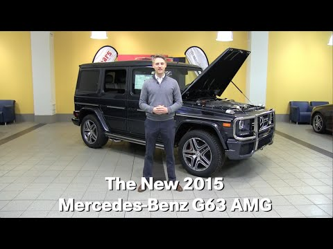 The New 2015 Mercedes-Benz G63 AMG G-Class G-Wagon Minneapolis Minnetonka Bloomington MN
