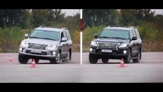 Lexus LX570 стабилизаторы CARTECH