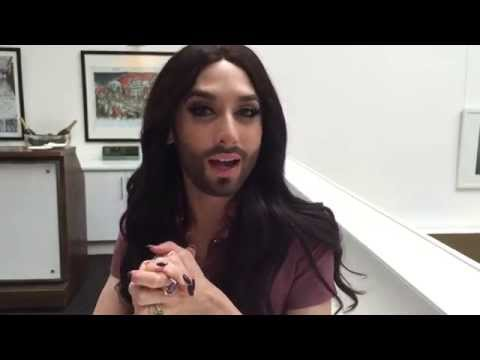 Exclusive Interview: Eurovision Winner Conchita Wurst on life and social media video