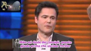 Donny Osmond about Michael Jackson on Dr. Phil Show sub ita.avi