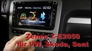 Produktvorstellung Zenec Z-E2050 für Volkswagen, Skoda, Seat