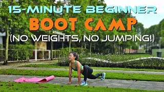 15-Minute Beginner Boot Camp (No Weights, No Jumping!) by Joanna Soh Official