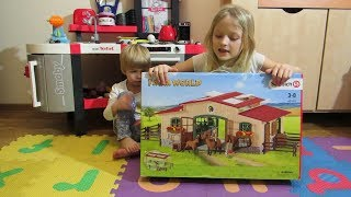 Stadnina Schleich 42195 Cześć 1 Bajki Dla Dzieci Zabawki Dla Dzieci