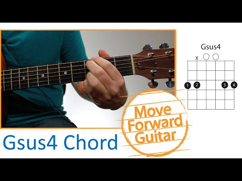 Guitar Chords for Beginners - Gsus4