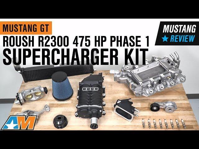 Roush R2300 475 HP Supercharger Kit - Phase 1 (05-09 GT w/ Manual  Transmission)