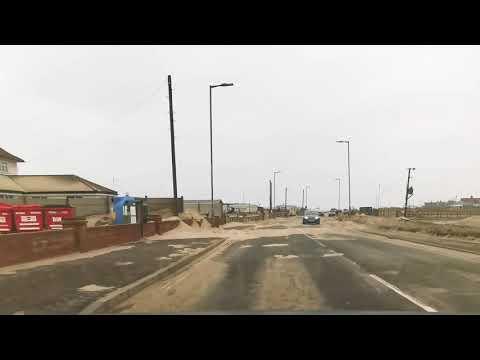 Απίστευτες εικόνες στο Νόρφολκ στη Βρετανία: Η άμμος... κάλυψε το χωριό, αυτοκίνητα, δρόμους, σπίτια