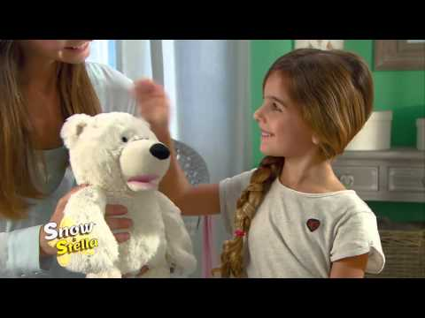 Y - Peluche Interactive Ours Snow et Stella Bandai Occasion