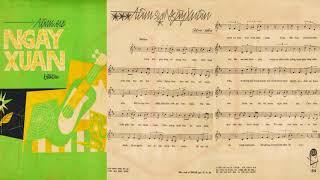 🎵 Tâm Sự Ngày Xuân (Hoài An) Thanh Tuyền Pre 1975 | Tờ Nhạc Xưa