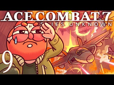 Faceless Soldier | Ace Combat 7: Skies Unknown | Mission 9
