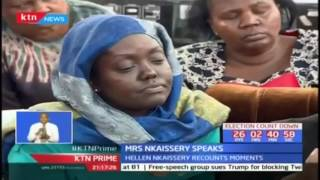 The late Joseph Nkaissery's widow asks those planning to attend the funeral not to play politics