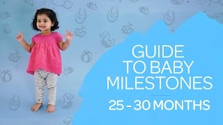 2 - 2.5 Years Old Baby Milestones Guide - Growth & Development
