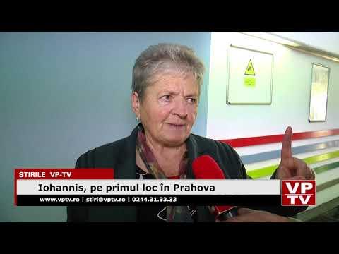 Iohannis, pe primul loc în Prahova