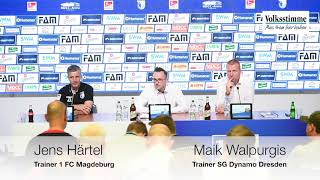 FCM gegen Dynamo Dresden