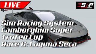 Sim Racing System Laborghini Super Trofeo Championship: Week 6: Laguna Seca