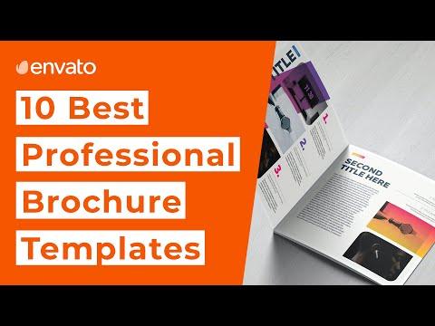 , title : '10 Best Professional Brochure Templates [2020]