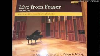 Schumann:Davidsbundlertanze op6 Zart und singend p.14-Yaron Kohlberg