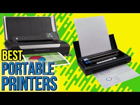 6 Best Portable Printers 2017